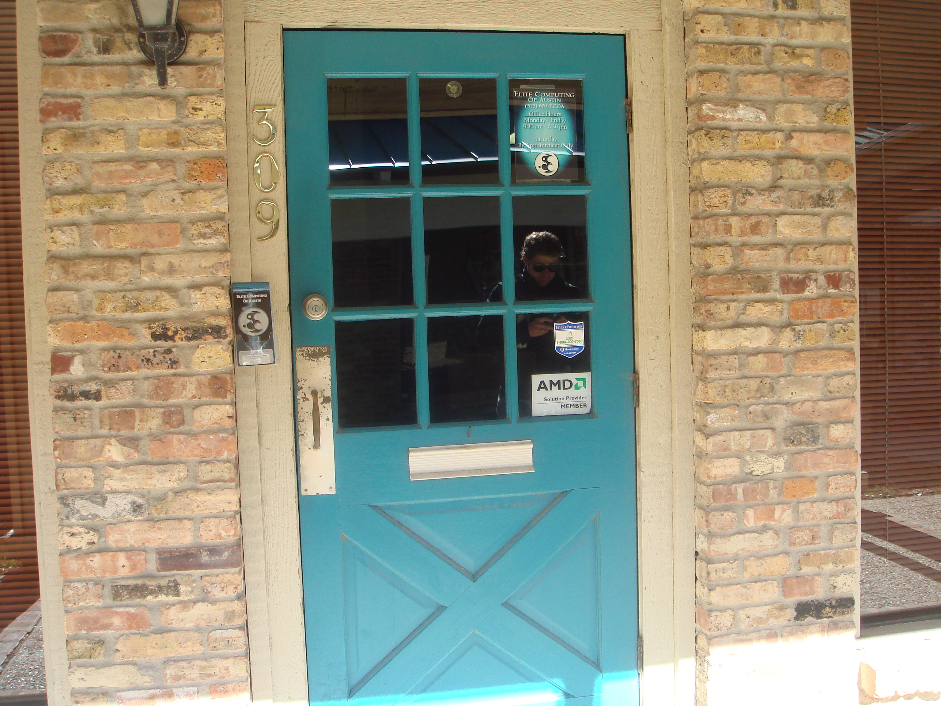 I guess we really do love teal what the vita for Teal front door