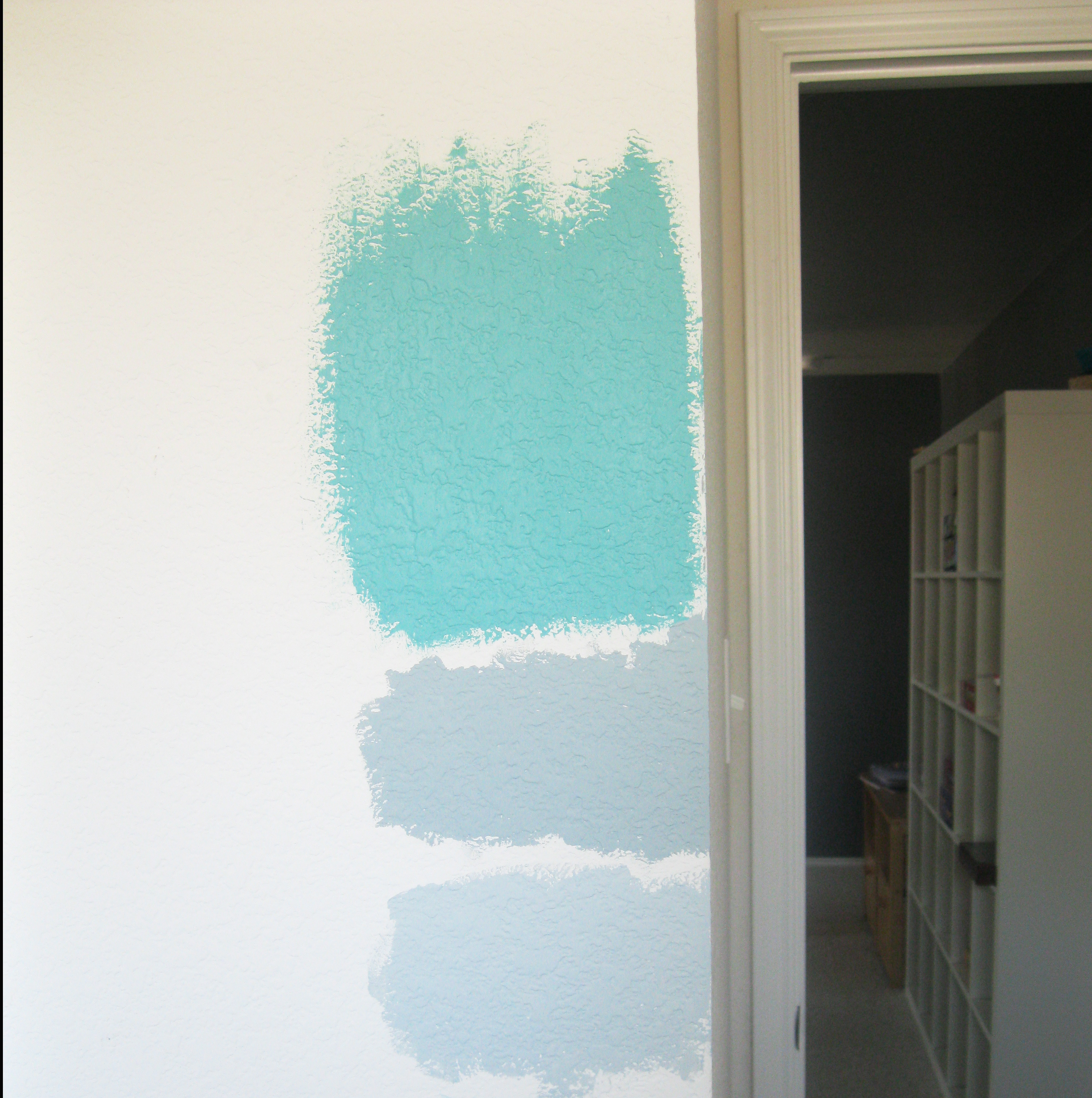 Laundry Room Progress The Saga Of How We Finally Found Our Paint Color What The Vita