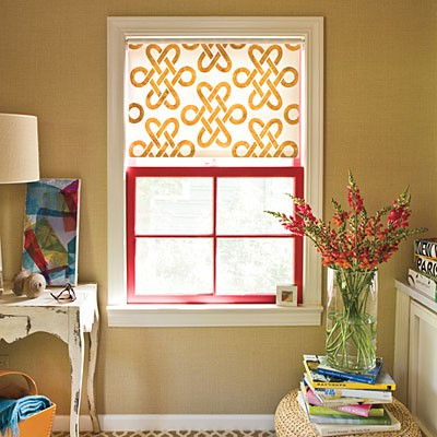 diy window treatment ideas: roller shades – what the vita