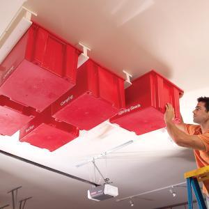 garage ceiling storage system