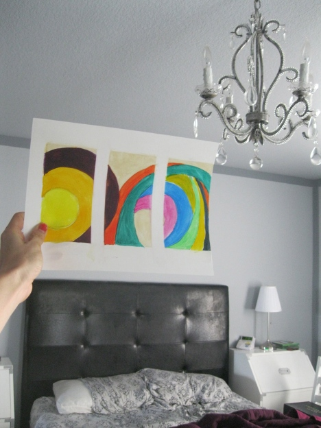 painting over bed